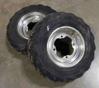Raptor 660 350 Front Wheels Tires Banshee Warrior YFZ 450