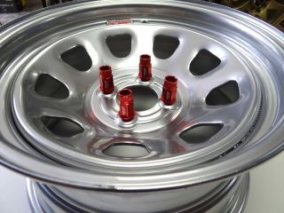 15X8 SILVER DIAMOND RACING RIMS W/ TIRES **FREE COLORED LUGS **EF EG