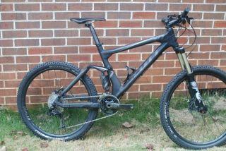 Scott Genius 10 Carbon Trail Full Susp Mountain Bike Size Large Super