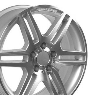 17 Rim Fits Mercedes AMG Wheels Silver 17x7 5 Set
