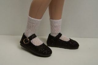 White Ballerina Dance Doll Shoes for 14 Lark Raven Wren♥
