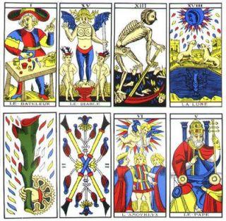 Tarot de Marsella mas Curso Completo de Tarot