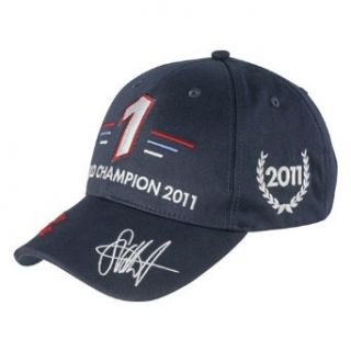 Sebastian Vettel Weltmeister Cap 2011 Formel 1 RED BULL RACING