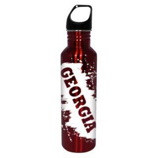 NCAA Georgia Bulldogs Water Bottle   Red/White (26 oz.)