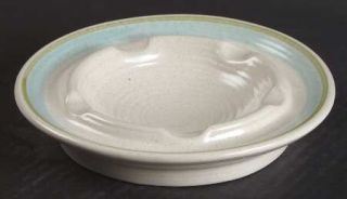 Franciscan Tulip Time Large Ashtray, Fine China Dinnerware   Blue/Green Tulip, B