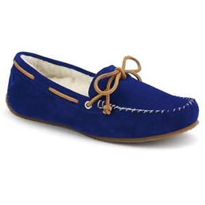 Sperry Top Sider Womens Scarlet Navy Blue Suede Shoes 9289737