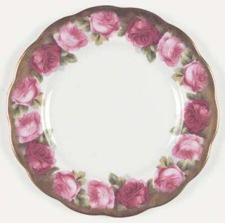 Royal Albert Mothers Day Salad Plate, Fine China Dinnerware   Bone,Pink Roses,Go