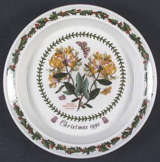 Portmeirion Botanic Garden 1998 Annual Christmas Plate, Fine China Dinnerware