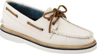 Womens Sperry Top Sider Grayson Canvas   Ivory Canvas Casual Shoes