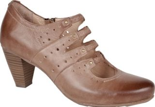 Womens Blondo Joelle   Light Taupe Blanche Neige Leather Casual Shoes