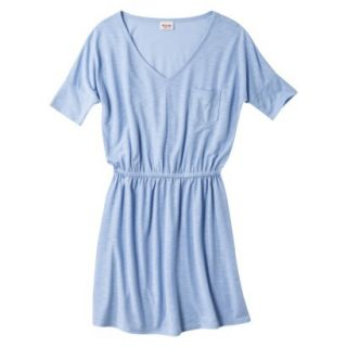 Mossimo Supply Co. Juniors V Neck Dress   Rushing Water Blue XL(15 17)