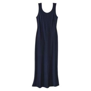 Merona Womens Plus Size Sleeveless V Neck Maxi Dress   Black/White 4