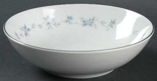 Mikasa Rosita Fruit/Dessert (Sauce) Bowl, Fine China Dinnerware   Blue Roses, Gr