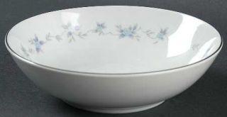 Mikasa Rosita Fruit/Dessert (Sauce) Bowl, Fine China Dinnerware   Blue Roses, Gr