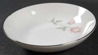 Royal Prestige Rose Crest Fruit/Dessert (Sauce) Bowl, Fine China Dinnerware   Pi