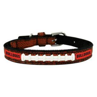 Georgia Bulldogs Classic Leather Toy Football Collar