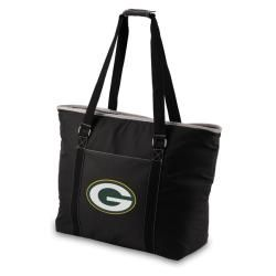 Picnic Time Green Bay Packers Tahoe Shoulder Tote (BlackDimensions: 23 inches high x 17 inches wide x 8.25 inches deepLarge exterior zipper pocketBeach styled toteFully insulatedHeat sealed, water resistant interior liner )