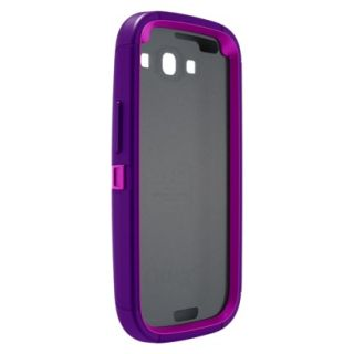Otterbox Defender Cell Phone Case for Samsung Galaxy SIII   Purple (77 21380P1)