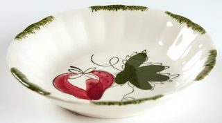 Blue Ridge Southern Pottery Strawberry Sundae Fruit/Dessert (Sauce) Bowl, Fine C