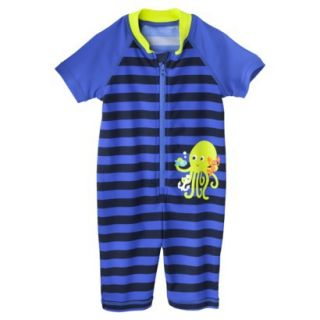 Just One You by Carters Infant Boys Octopus Full Body Rashguard   Royal 9 M
