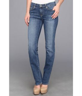 Big Star Kate Midrise Straight Jean in Holly Medium Womens Jeans (Blue)