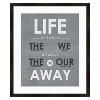 Life Quote Wall Art