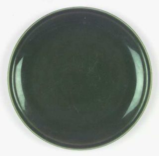Paden City Greenbrier Dell (Dark) Green Dinner Plate, Fine China Dinnerware   Al