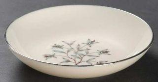 Lenox China Princess Fruit/Dessert (Sauce) Bowl, Fine China Dinnerware   Gray &