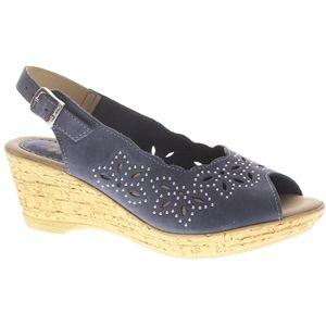 Spring Step Womens Keystone Navy Sandals   Keystone NN