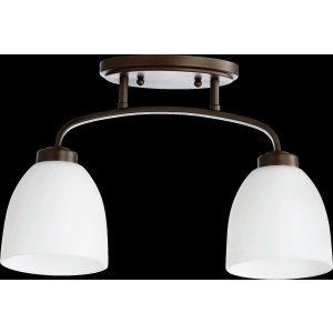 Quorum International QIN 3260 2 86 Reyes Reyes 2 Light Sink  Light