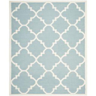 Safavieh Dhurries Light Blue/Ivory Rug DHU633C Rug Size: 8 x 10