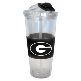 Boelter Brands NCAA 2 Pack Georgia Bulldogs No Spill Double Walled Tumbler with
