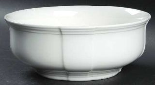 Villeroy & Boch Chambord (White,Fine China,Germany) 7 Round Vegetable Bowl, Fin