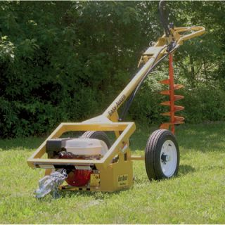 Easy Auger Hydraulic Earth Auger   270cc Engine, 350 Ft. Lbs. of Torque, Model#