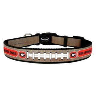Georgia Bulldogs Reflective Medium Football Collar