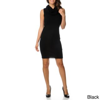 Ply Cashmere Womens Cowl Neck Sweater Dress