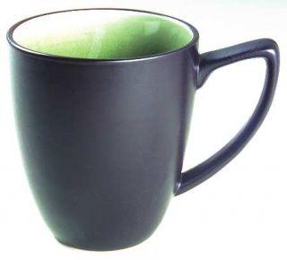 Ty Pennington Style Lemon Grass Mug, Fine China Dinnerware   Green Inside/Top, C