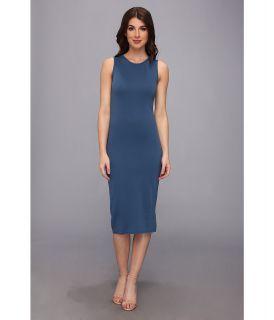 Brigitte Bailey Nalae Ponte Dress Womens Dress (Blue)
