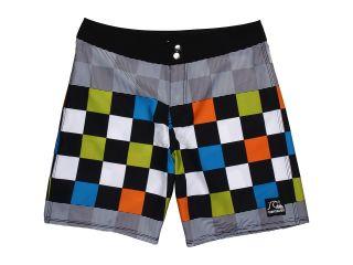 Quiksilver Kids Flash Back Boardshort Boys Swimwear (Green)