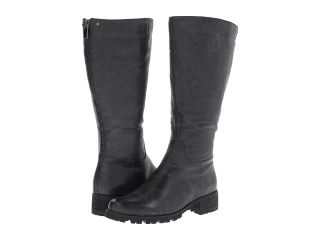 Type Z Tammy Convertible Wide Calf Womens Wide Shaft Boots (Black)