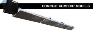 Berner Compact Heater   75,000 100,000 BTU, 20 Reflector, Stainless, Natural Gas
