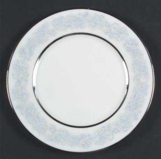 Oxford (Div of Lenox) Twilight Dell Salad Plate, Fine China Dinnerware   Blue An