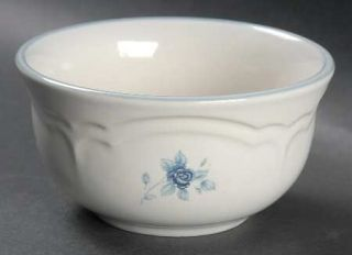 Pfaltzgraff Poetry Glossy Dessert Bowl, Fine China Dinnerware   Glossy, Newer, B