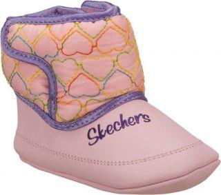 Infant/Toddler Girls Skechers Lil Snugglers   Pink/Multi Boots