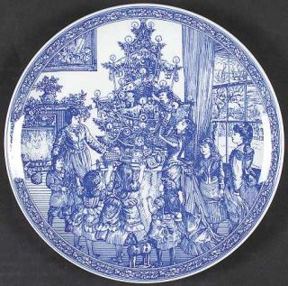 Spode Victorian Annual Christmas  2000 Annual Christmas Plate, Fine China Dinner