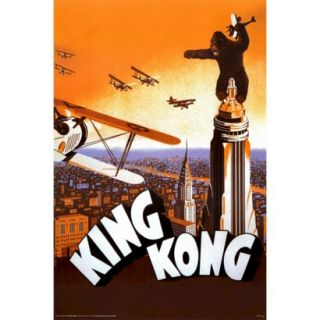 Art   King Kong Framed Poster