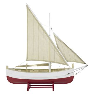 Authentic Models Biscay Fishing Boat in Red Multicolor   AS088