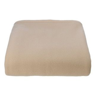 Super Soft Fleece Blanket   Sand (King)