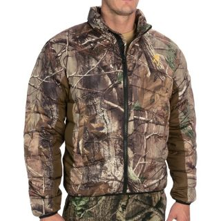 Browning Goose Down Camo Jacket   700 Fill Power (For Men)   REALTREE AP (L )