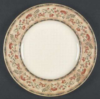 Johnson Brothers Mc Baine Salad Plate, Fine China Dinnerware   Flowers & Swags O